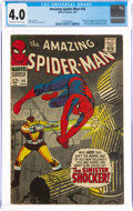 Silver Age (1956-1969):Superhero, The Amazing Spider-Man #46 (Marvel, 1967) CGC VG 4.0 Off-white to white pages....