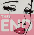 Paintings, Ben Frost (b. 1975). The End, 2016. Screenprint and acrylic on wood board. 12 x 12 x 3/4 inches (30.5 x 30.5 x 1.9 cm). ...