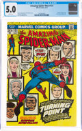 Bronze Age (1970-1979):Superhero, The Amazing Spider-Man #121 (Marvel, 1973) CGC VG/FN 5.0 White pages....
