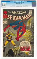 Silver Age (1956-1969):Superhero, The Amazing Spider-Man #46 (Marvel, 1967) CGC VF+ 8.5 White pages....