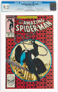 Modern Age (1980-Present):Superhero, The Amazing Spider-Man #300 (Marvel, 1988) CGC NM- 9.2 White pages....