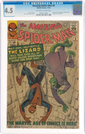 Silver Age (1956-1969):Superhero, The Amazing Spider-Man #6 (Marvel, 1963) CGC VG+ 4.5 Off-white to white pages....