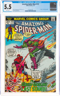 Bronze Age (1970-1979):Superhero, The Amazing Spider-Man #122 (Marvel, 1973) CGC FN- 5.5 White pages....