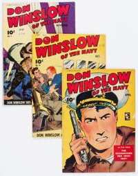 Don Winslow of the Navy Group of 6 (Fawcett Publications, 1943-46).... (Total: 6 )
