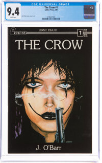 The Crow #1 (Caliber Press, 1989) CGC NM 9.4 White pages