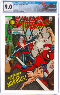The Amazing Spider-Man #101 (Marvel, 1971) CGC VF/NM 9.0 Off-white to white pages