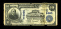 National Bank Notes:Pennsylvania, Orbisonia, PA - $10 1902 Plain Back Fr. 626 The First NB Ch. #(E)8985. ...