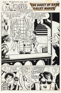 Original Comic Art:Story Page, Dan DeCarlo and Rudy Lapick Josie and the Pussycats #57 Story Page Original Art Group of 5 (Archie, 1971).... (Total: 5 Original Art)