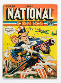 National Comics #27 (Quality, 1942) Condition: GD/VG