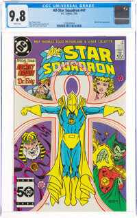 All-Star Squadron #47 (DC, 1985) CGC NM/MT 9.8 White pages