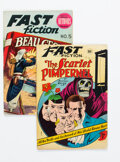 Golden Age (1938-1955):Classics Illustrated, Fast Fiction #1 and 5 Group (Seaboard Pub., 1949-50).... (Total: 2 )