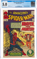 Silver Age (1956-1969):Superhero, The Amazing Spider-Man #15 (Marvel, 1964) CGC VG/FN 5.0 Off-white to white pages....