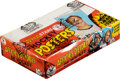 Hockey Cards:Unopened Packs/Display Boxes, Very Rare 1973-73 O-Pee-Chee WHA Hockey Posters Box with 36 Packs. ...