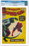 Silver Age (1956-1969):Superhero, The Amazing Spider-Man #45 (Marvel, 1967) CGC VF+ 8.5 Off-white pages....
