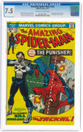 Bronze Age (1970-1979):Superhero, The Amazing Spider-Man #129 (Marvel, 1974) CGC VF- 7.5 Off-white to white pages....