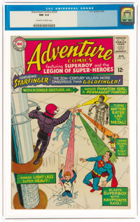 Adventure Comics #335 (DC, 1965) CGC NM 9.4 Off-white to white pages