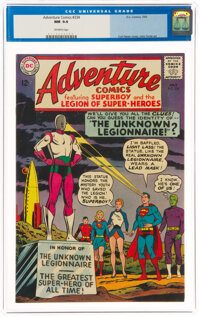 Adventure Comics #334 (DC, 1965) CGC NM 9.4 Off-white pages