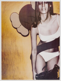KAWS (b. 1974) Tokion Poster, c. 1999 Offset lithograph in colors on smooth wove paper 23-1/2 x 17-1/2 inches (59.7 x