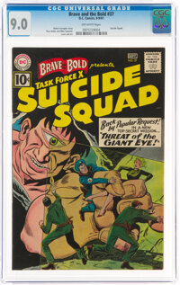 The Brave and the Bold #37 Suicide Squad (DC, 1961) CGC VF/NM 9.0 Off-white pages