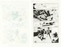 Original Comic Art:Story Page, Paolo Rivera and Joe Rivera Daredevil #2 Story Page 6 Original Art Group of 2 (Marvel, 2011).... (Total: 2 Original Art)