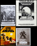 Movie Posters:Horror, Dawn of the Dead (United Film/Constantin Film/Titanus, 1978/1979). Overall: Very Fine-. U.S. & German Promotional Material (... (Total: 23 Items)