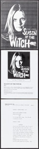 """Movie Posters:Horror, Hungry Wives (Jack Harris Enterprises, 1973). Overall: Very Fine-. Script (135 Pages, 8.5"""" X 11""""), Uncut Pressbooks (8) (2 P... (Total: 11 Items)"""