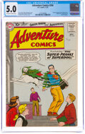 Silver Age (1956-1969):Superhero, Adventure Comics #266 (DC, 1959) CGC VG/FN 5.0 Off-white to white pages....