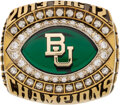 Football Collectibles:Others, 2013 Baylor University Bears Big 12 Football Championship Ring Presented to Defensive End Sam Ukwuachu....