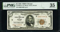 Fr. 1850-G* $5 1929 Federal Reserve Bank Star Note. PMG Choice Very Fine 35