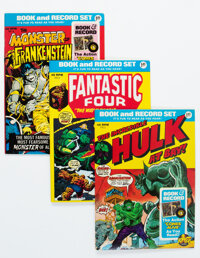 Power Record Comics Group of 5 (Marvel, 1974-76) Condition: Average FN/VF.... (Total: 5 Comic Books)