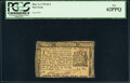 Colonial Notes:New York, New York March 5, 1776 $1/3 PCGS New 62PPQ.. ...