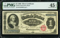 Fr. 216 $1 1886 Silver Certificate PMG Choice Extremely Fine 45 EPQ