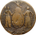 1787 New York Excelsior Copper, Eagle on Globe Left, Fine 15 NGC. W-5785, R.6....(PCGS# 427)