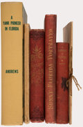 Books:Americana & American History, [Abbie M. Brooks]; et al. Group of Five Books about Florida and One 1909 Florida Real Estate Pamphlet. Various places: Vario... (Total: 6 Items)