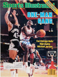 """Basketball Collectibles:Publications, 1986 Michael Jordan Signed """"Sports Illustrated"""" Magazine """"One Man Gang"""" Cover...."""