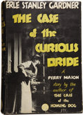 Books:First Editions, Erle Stanley Gardner. The Case of the Curious Bride. NewYork: William Morrow and Company, 1934....