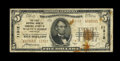 National Bank Notes:Arkansas, Walnut Ridge, AR - $5 1929 Ty. 2 The First NB of Lawrence County Ch. # 11312. ...