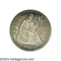 Proof Seated Dollars: , 1865 $1 PR64 PCGS. Only 47,000 business strikes were ...