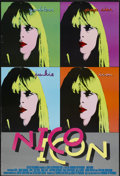 "Movie Posters:Documentary, Nico Icon (Roxie Releasing, 1995). One Sheet (26.5"" X 39""). Documentary...."