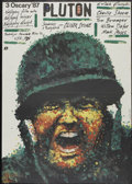 "Movie Posters:War, Platoon (Orion, 1986). Polish One Sheet (26"" X 36.5""). War...."