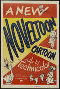 "Movie Posters:Animated, Noveltoon Cartoons Stock Poster (Paramount, 1950). One Sheet (27"" X 41""). Animated...."