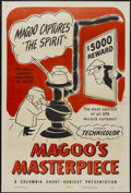 "Movie Posters:Animated, Magoo's Masterpiece (Columbia, 1953). One Sheet (27"" X 41""). Animated...."