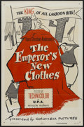 "Movie Posters:Animated, The Emperor's New Clothes (Columbia, 1953). One Sheet (27"" X 41"").Animated...."
