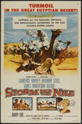 "Movie Posters:Adventure, Storm Over the Nile (Columbia, 1955). One Sheet (27"" X 41"").Adventure...."