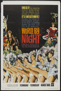 "Movie Posters:Documentary, World by Night (Warner Brothers, 1961). One Sheet (27"" X 41""). Documentary...."