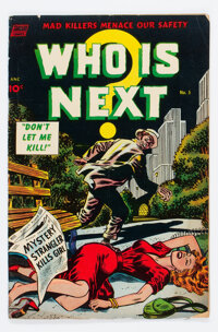 Who Is Next #5 (Standard, 1953) Condition: VG
