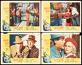 """Movie Posters:Crime, Dead End & Other Lot (Samuel Goldwyn, R-1954). Fine+. Lobby Cards (9), & Title Lobby Card (11"""" X 14""""). Crime.. ... (Total: 10 Items)"""