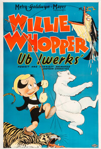 Willie Whopper Theatrical Poster (Ub Iwerks, 1933)