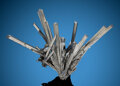 Minerals:Cabinet Specimens, Stibnite. Wuning Mine (Wuling Mine; Qingjiang Mine). Qingjiang, Wuning Co., Jiujiang. Jiangxi. China. ... (Total: 2 Items)