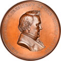 U.S. Mint Medals, (c. 1861) Dr. Frederick Rose, Julian PE-29, Baxter-56, MS65 Brown NGC. Bronze, 76 mm. By Anthony C. Paquet...